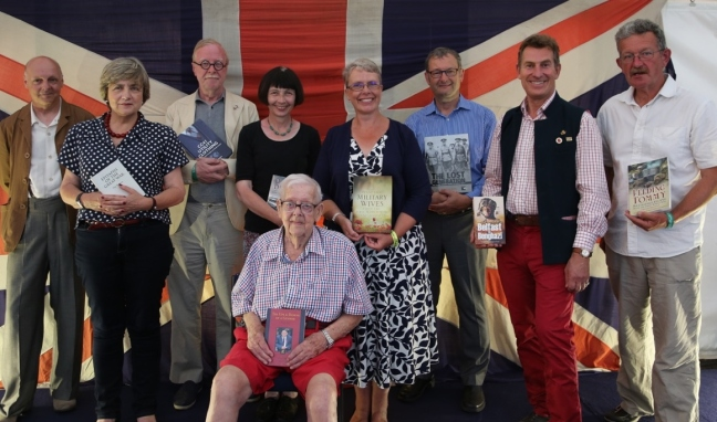 Authors at Folkestone