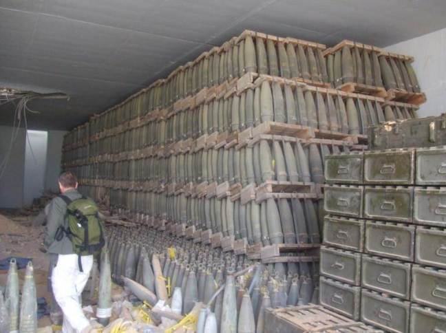 10 Inside an Ammunition Bunker
